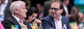 """Doppelstrategie gegen die AfD: Rechts von der CSU ist der """"braune Schmutz"""""""