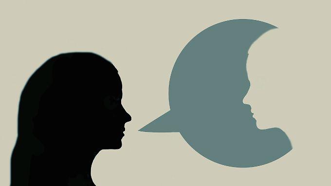 Selbstgespräche können die Motivation steigern, beim Stressabbau helfen und beim Sortieren von Gedanken unterstützen.