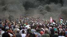 Abbas wirft Israel Massaker vor: USA geben Hamas Schuld an Gewalt