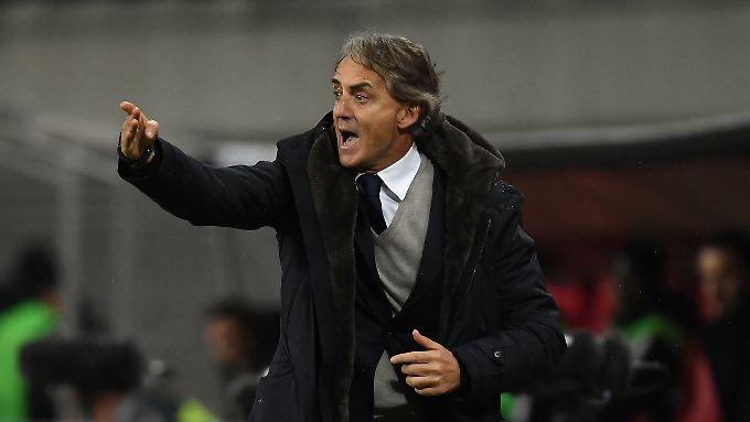 Soll die Squadra Azzurra wieder auf Trab bringen: Roberto Mancini.