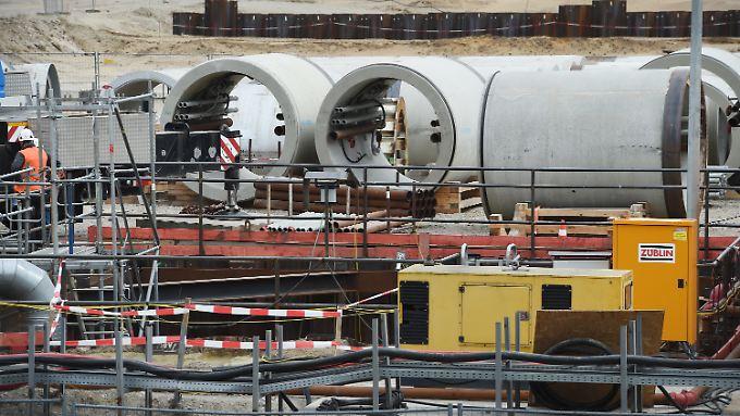 Die neue Pipeline soll in der Nähe von Lubmin in Deutschland anlanden.