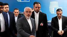 Erhalt des Atomabkommens: EU und Iran entwerfen Rettungsplan
