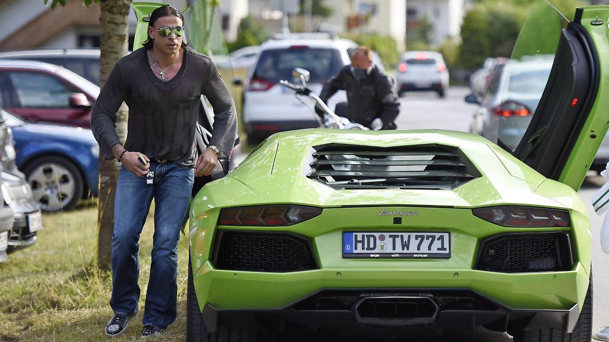 Tim Wiese Lamborghini