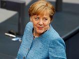Elefantenrunde im Bundestag: Merkel tut so, als wäre Weidel gar nicht da