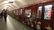 WM-Countdown (28): Fußball-Rundfahrt mit der Moskauer Metro