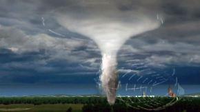 Zerstörerische Macht über Deutschland: So entsteht ein Tornado