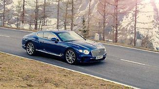 Länger, flacher, digitaler: Beim neuen Bentley Continental GT ist vieles anders