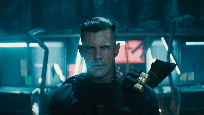 Sieht man sofort, dass Cable (Josh Brolin) ein echter Softie ist.