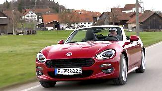 Reicht die Leistung?: Fiat putzt den 124 Spider heraus