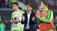 Holstein zu verschwenderisch: Labbadia treibt Wolfsburg zur Leidenschaft