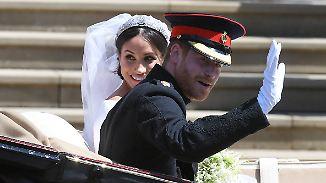 Plötzlich Prinzessin: Meghan ist angekommen