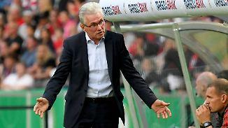 Ihm blieb die letzte Ehrung als Bayern-Trainer verwehrt: Jupp Heynckes