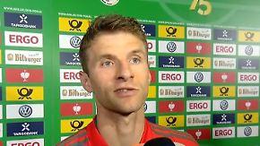 """Stimmen zum Pokalfinale: Müller: """"Der gespielte Witz"""""""