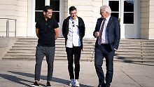 Treffen mit Steinmeier und DFB: Özil und Gündogan stehen zu Deutschland