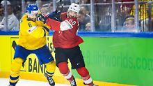 Die beiden Teams schenkten sich auf dem Eis nichts.