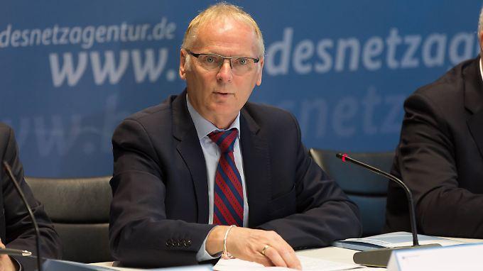 Jochen Homann ist Präsident der Bundesnetzagentur.