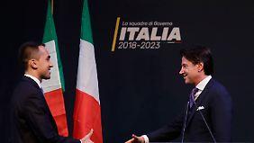 Populistisches Experiment in Italien: Politik-Neuling Conte soll Ministerpräsident werden