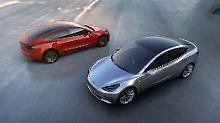 Die Produktion des Tesla Model 3 ist teurer als gedacht.