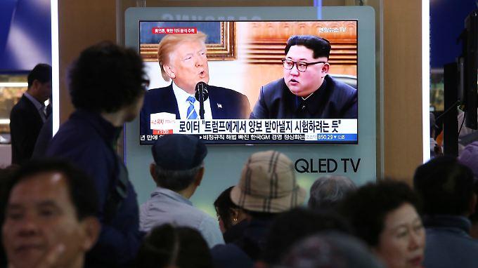 Am 12. Juni wollen sich Donald Trump und Kim Jong Un in Singapur treffen.