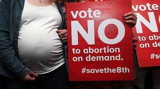 Umstrittenes Abtreibungsverbot: Zusatzartikel 8 entzweit Irland