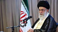 Streit um Atomabkommen: Ajatollah Chamenei stellt Forderungen an EU