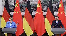 Schwierige Mission in China: So macht Li Merkel das Leben schwer