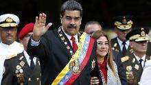 300 Oppositionelle in Haft: Maduro stellt Freilassungen in Aussicht