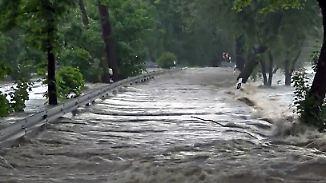 Starkregen, umstürzende Bäume: Unwetter wüten im Südosten