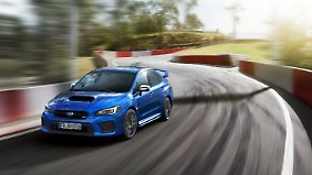 Der Subaru WRX STI wird demnächst eingestellt.