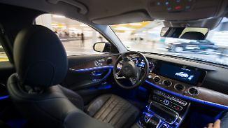 Deutsche Autobauer hoffen auf Kooperation: In China liegt die Zukunft des autonomen Fahrens