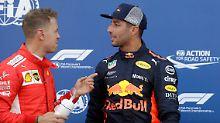 Formel 1 im Fürstentum: Ricciardo rast vor Vettel zu Monaco-Pole