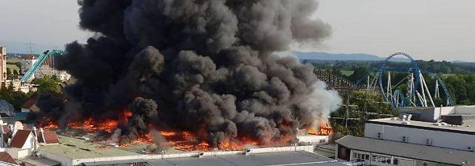 Trotz Großbrand: Europapark öffnet am Sonntag wieder