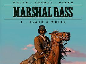 """""""Marshal Bass"""", erschienen bei Splitter, 56 Seiten, Hardcover im Albenformat, 14,80 Euro."""