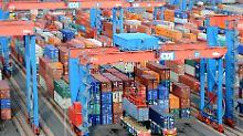 Schwierige Zeiten für Deutschlands Exporteure.