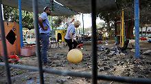 Einschlag nahe Kindergarten: Palästinenser feuern Granaten auf Israel