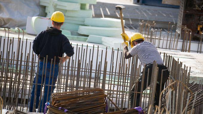 Im Baugewerbe finden einige Betriebe inzwischen keine Mitarbeiter mehr.
