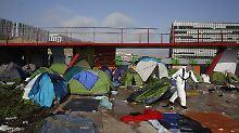 Bewohner werden umgesiedelt: Pariser Polizei räumt größtes Migrantencamp