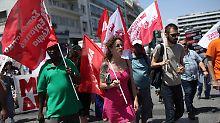 Protest gegen Sparpolitik: Generalstreik legt Griechenland lahm