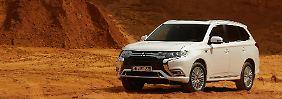 Die Hybridvariante des Outlander ist in Europa ein Erfolgsmodell. Nun wird das Öko-SUV überarbeitet.
