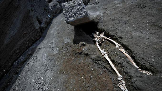 Der über 30 Jahre alte Mann wurde von einem Steinquader zerquetscht.