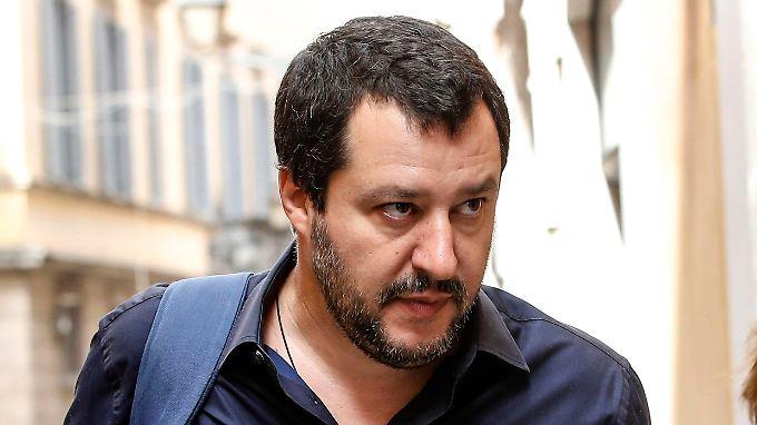 Salvini - die Wildsau - bestimmt derzeit Italiens Geschicke.