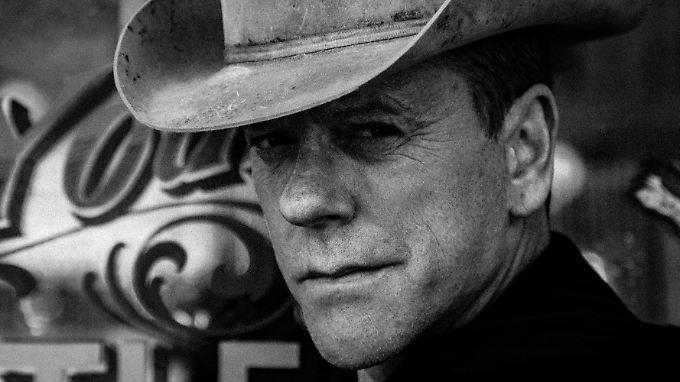 Kiefer Sutherland - Präsident, Cowboy, Musiker, Schauspieler. Kochbuch-Autor? Wir wollen nicht übertreiben.