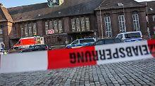 Hintergründe der Tat noch unklar: Messerangriff in Flensburg: Seehofer bestürzt