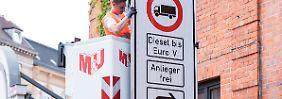 Beschränkungen für Dieselautos: In Hamburg gelten erstmals Fahrverbote
