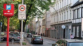 Zwei Straßenabschnitte in Hamburg: Erste Fahrverbote für Diesel treten in Kraft