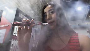 Weniger Raucher in Deutschland: WHO sieht E-Zigaretten-Boom kritisch