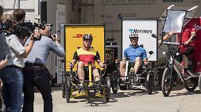 Pilotprojekt in Berlin: Paketdienste testen Lastenräder-Flotte