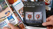 Männer skeptischer als Frauen: Deutsche wollen Werbeverbot für Tabak