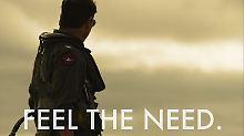 """Maverick ist zurück: Tom Cruise dreht """"Top Gun""""-Fortsetzung"""