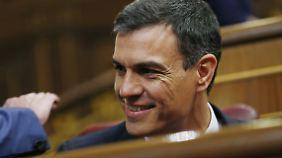 Pedro Sánchez ist Spaniens neuer Regierungschef.